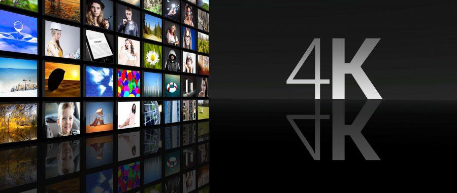 ひかりTVは4K画質で見られるビデオもある