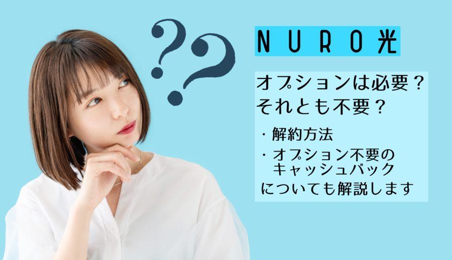 NURO光のオプションは必要かどうか考える女性jpg